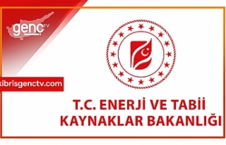 """Türkiye Enerji Bakanlığı'ndan """"Doğu..."""