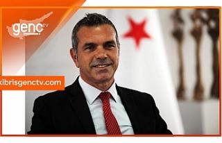 """Uluçay: """"Kıbrıs Türk gençliğinin spor yapma..."""