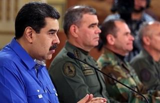 Venezuela Devlet Başkanı Maduro: Darbe girişimi...