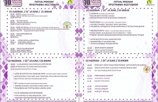 """""""10. Uluslararası Lapta Turizm Festivali"""" 21..."""