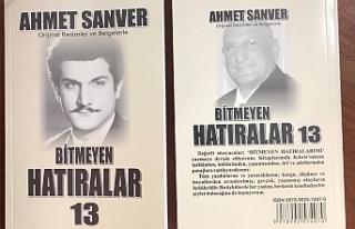 """Ahmet Sanver'in 13'üncü kitabı """"Bitmeyen..."""