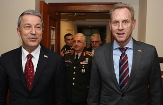 Akar, ABD Savunma Bakan Vekili Shanahan ile görüştü