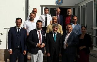 Akdeniz Gazeteciler Federasyonu heyetinden Dış Basın...