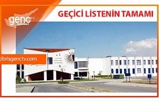 Atatürk Öğretmen Akademisi sınav sonuçları