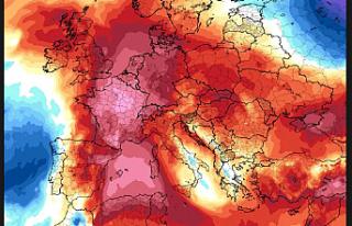 Avrupa'yı etkisi altına alan sıcak hava dalgası...
