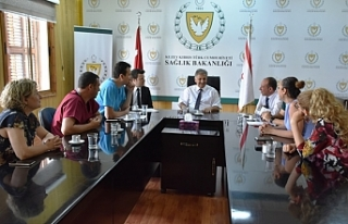 Bakan Pilli, Tıp İş yetkilileri ile görüştü