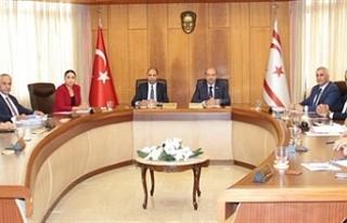Bakanlar Kurulu Başbakan Ersin Tatar başkanlığında...