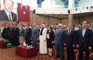 Barış Harekatı'na katılan gazilere Adana'da...