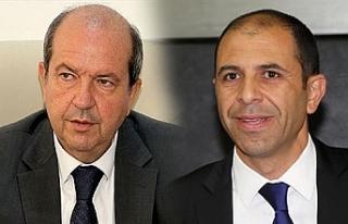 Başbakan Tatar ve Başbakan Yardımcısı Özersay...