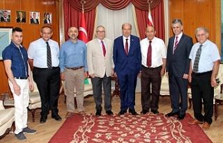 Başbakan YYK Yönetim Kurulunu kabul etti