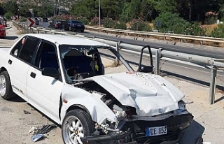 Boğazköy-Ağırdağ yolunda kaza