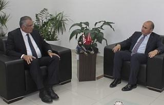 Çavuşoğlu, Büyükelçi'yi kabul etti