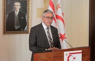 Cumhurbaşkanı Akıncı, Başbakan Tatar ve Spehar...