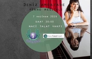Deniz Amcazade'den piyano resitali