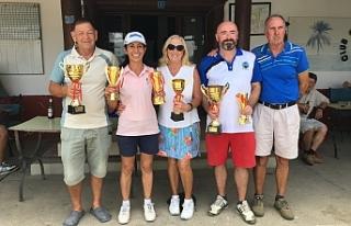 Efes Pilsen Golf Turnuvası Şampiyonu Nicky O'Donnell