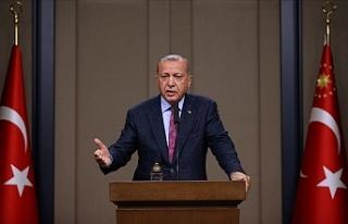 """Erdoğan'dan Doğu Akdeniz açıklaması: """"Karşı..."""
