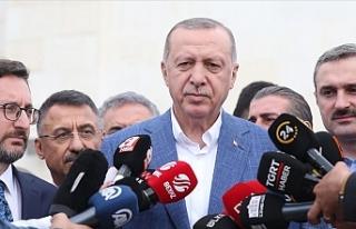 """Erdoğan'dan Doğu Akdeniz çıkışı: """"Bu..."""