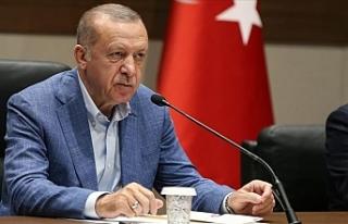 """Erdoğan: """"Kuzey Kıbrıs'ta askerimizin..."""