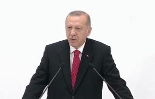 """Erdoğan: """"S-400 teslimat sürecindedir, bu iş..."""