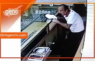 Girne'de kuyumcu soygunu