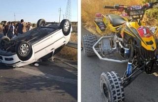 Gönyeli-Boğazköy yolunda kaza