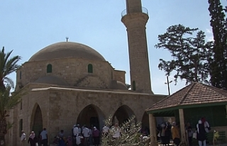 Hala Sultan Tekkesi'ne ziyaret bugün