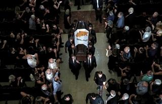 Hristofyas'ın cenaze töreni rum gazetelerinde...