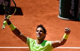 İlk finalist Federer'i deviren Nadal