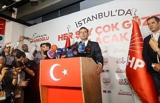 """İmamoğlu: """"İstanbul'da adalet, eşitlik..."""