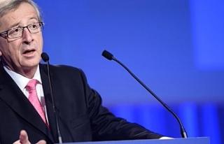 """Juncker: """"Kıbrıs sorununun çözümü başaramadıklarımız..."""
