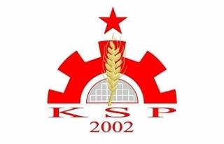 KSP, Kıbrıs sorununda çözümsüzlüğün kalıcılaştırıldığını...