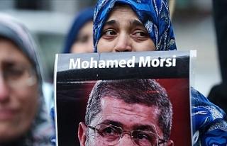 Mursi için New York'ta gösteri yapıldı
