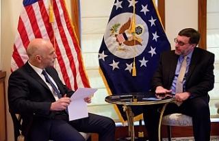"""Palmer: """"Doğu Akdeniz ve Kıbrıs ABD için..."""