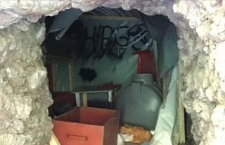 Pençe Harekatı'nda PKK'ya ait mağara...