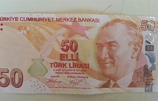 Polis uyardı: Sahte 50 TL'lik banknotlara dikkat!