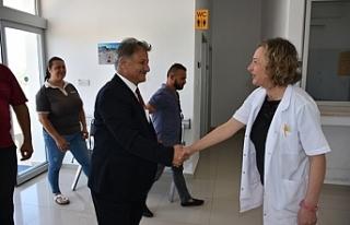 """Sağlık Bakanı Pilli: """"İskele ve Karpaz bölgesindeki..."""