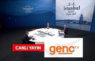 Tarihi canlı yayın Kıbrıs Genç Tv ekranlarında