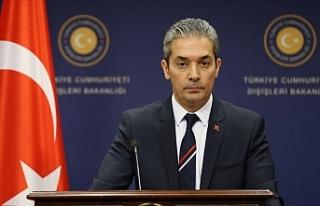 """Türkiye Dışişleri Bakanlığı Sözcüsü: """"Cüret..."""
