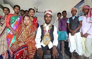 UNICEF, 115 milyon erkeğin çocuk yaşta evlendirildiğini...