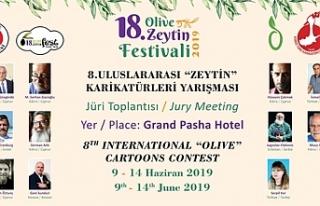 Zeytin Karikatürleri Yarışması ve jürisi, yarın...