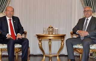 Akıncı, Başbakan Tatar'ı kabul etti