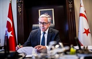 Akıncı, Guterres'i beşli gayriresmi toplantı...