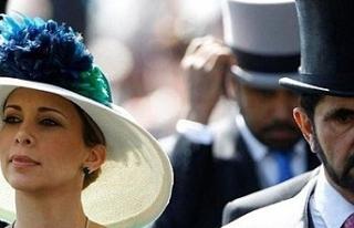"""""""Al Maktum'un eşi Prenses Haya İngiltere'ye..."""