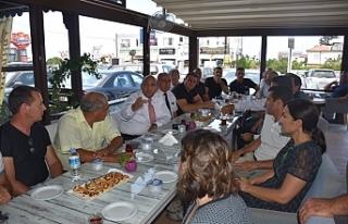 Alsancak'ta Girne Batı Çevre Yolu konusunda...