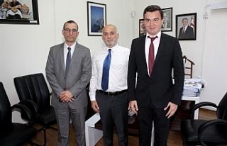 Anadolu Ajansı Dış Haberler Müdürü KKTC'de