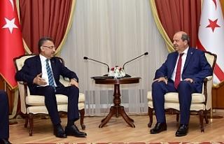 Başbakan Tatar, TC Cumhurbaşkanı Yardımcısı...