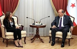 Başbakan Tatar, YÖDAK Başkanını kabul etti