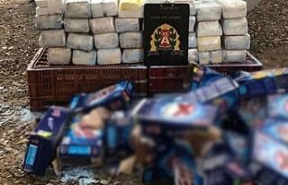 Brezilya'da toz sabun kutularından kokain çıktı