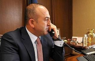 Çavuşoğlu'ndan Doğu Akdeniz için telefon...