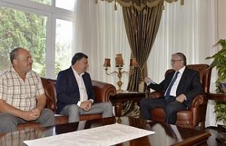 Cumhurbaşkanı Akıncı, Beyarmudu Belediye Başkanı...